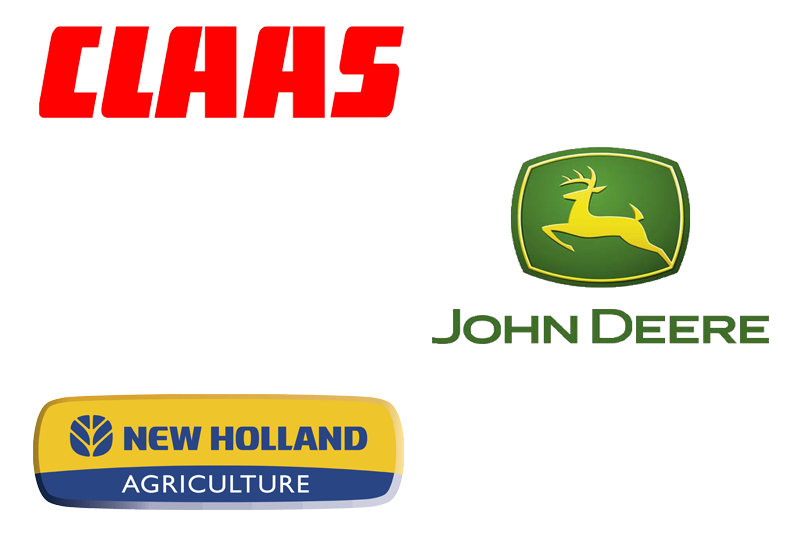 Claas Lexion, John Deere, Claas Mega, Holmer, NEW HOLLAND.